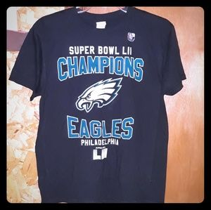 Philadelphia Eagles Superbowl T-Shirt Youth Boys